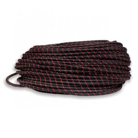 Wąż gumowy EPDM w oplocie nylonowym ø 9x12mm