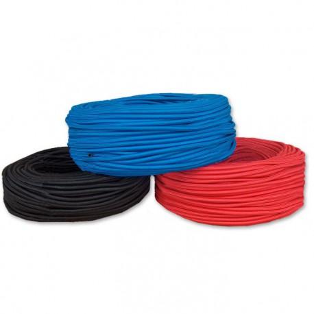 Wąż gumowy EPDM w oplocie nylonowym ø 5x8mm czerwony