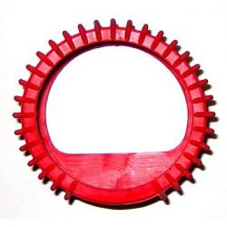 Osłona manometru czerwona acetylen gumowa