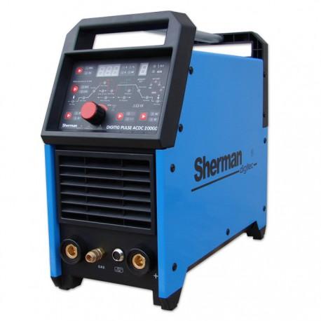Spawarka Sherman DIGITIG 200GD AC/DC pulse inwertorowa