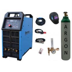 Spawarka DIGITIG 315GD AC/DC pulse Sherman + przyłbica V1a + butla + reduktor z rotametrem