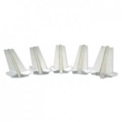 Podkładka ceramiczna walcowa WT-901 fi 8 pakiet 590 mm (150)