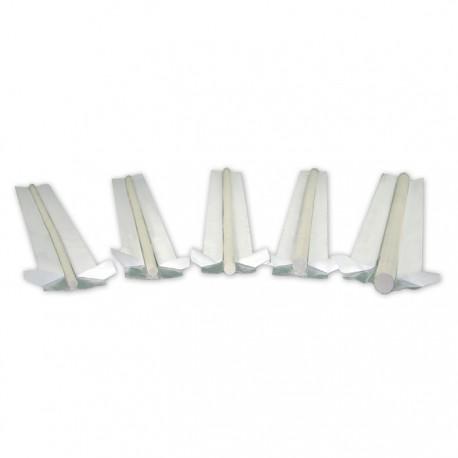 Podkładka ceramiczna walcowa WT-901 fi 6 pakiet 590 mm (150)