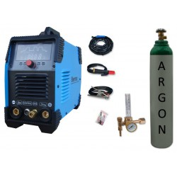 Spawarka Sherman DIGITIG 200 DC Multipro + butla + reduktor z rotametrem