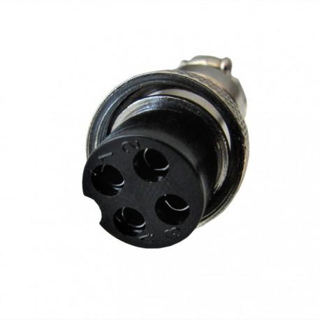 Wtyk 4-pin męski Sherman MIG 200M Digimig 200, 200X Synergic 200GD, 225GDS, 200 Pulse, Dualmig 210S3, TIG 210 320 AC/DC Pulse