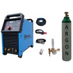 Spawarka DIGITIG 200GD AC/DC pulse Sherman + butla + reduktor z rotametrem
