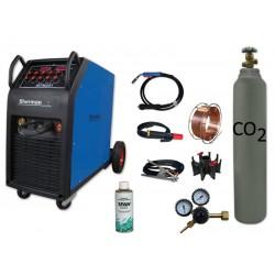 Spawarka MTM 251 + butla CO2 6kg + reduktor arg/co2 + drut + adaptor + spawmix