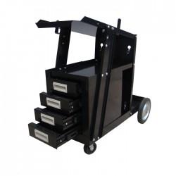 Wózek spawalniczy MIG z szufladami