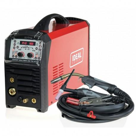 Spawarka Ideal EXPERT TIG 220 AC/DC PULSE + zestaw TIG
