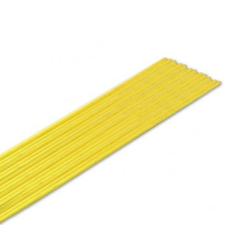 Lut srebny otulony Ag45 żółty Ø3,0