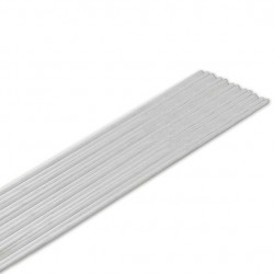 Lut mosiężny otul. LM60 biały Ø2,0
