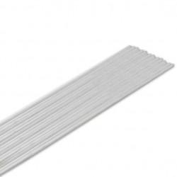 Lut mosiężny otul. LM60 biały Ø3,0