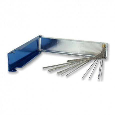 Przetyczki stalowe (czyściki) do palników ręcznych 70x30